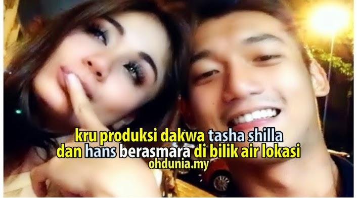Kru Produksi Dakwa Tasha Shilla & Hans Memadu Asmara Di Lokasi