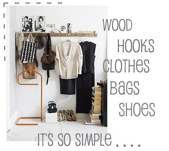 Vosgesparis It S So Simple Diy A Wooden Hat Rack