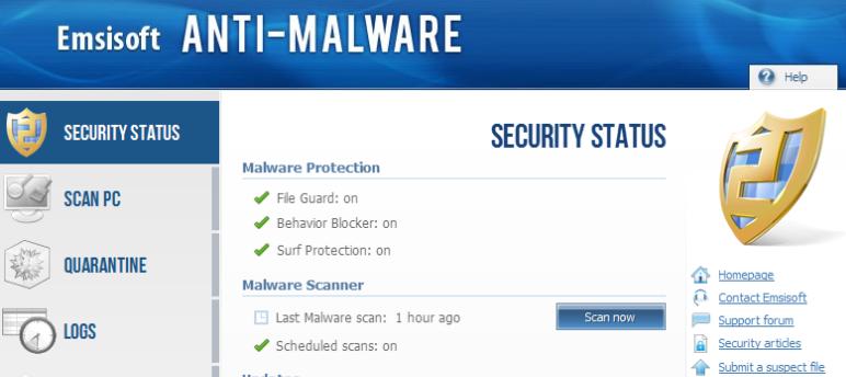 Emsisoft Anti-Malware 9.0.0.4453
