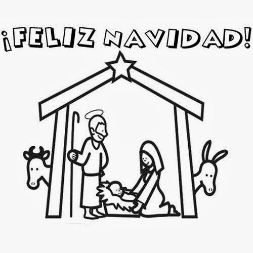 Blog Católico Navideño ®: IMÁGENES DE NAVIDAD PARA COLOREAR