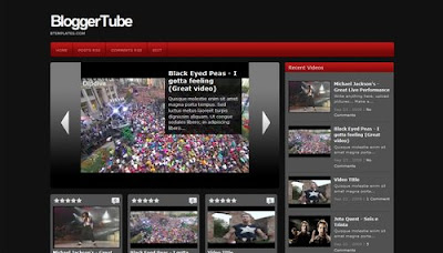 Blogger Tube -Premium Looking Blogger Template