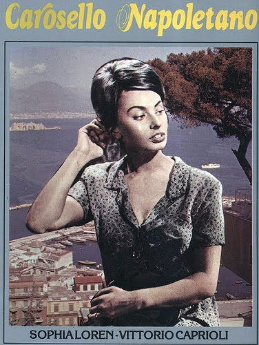 vintage movie posters sophia loren amore linguine