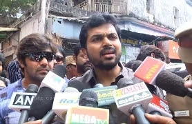 Youngsters should involve themselves in cleaning their streets- Karthi