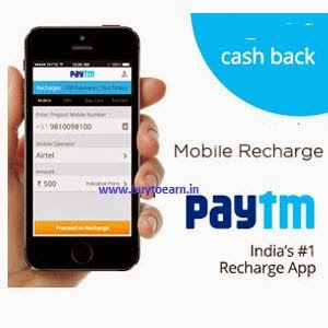 Paytm : Bill Payment, Mobile & DTH Recharge 20% cashback [New App Users]