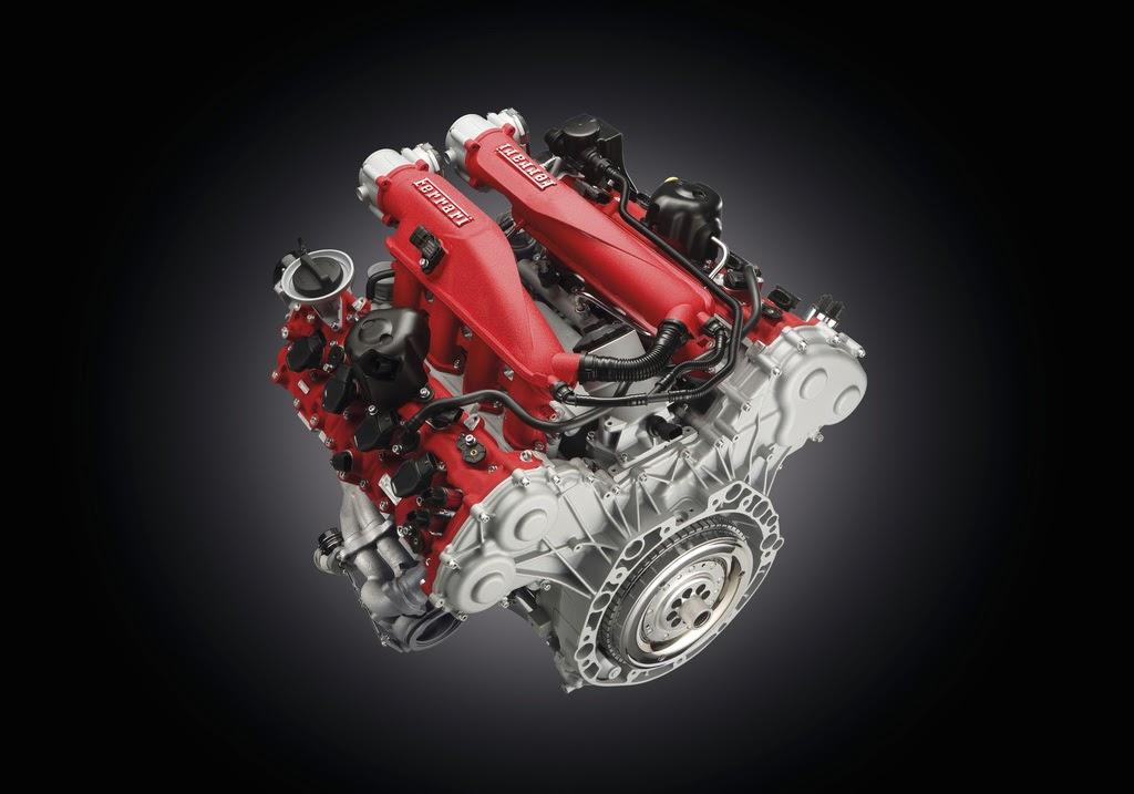 2014 Ferrari California T  engine