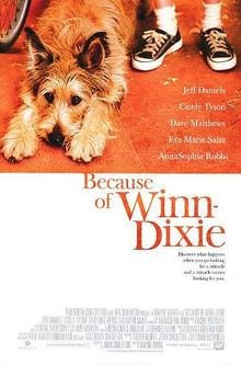 an analysis of the novel because of winn dixie by kate dicamillo Because of winn-dixie is a 2005 american family comedy-drama film adapted  from kate dicamillo's 2000s book of the same name, with the screenplay written .