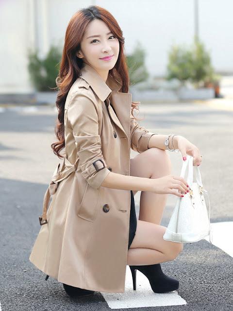 áo khoác nữ phong cách hàn quốc