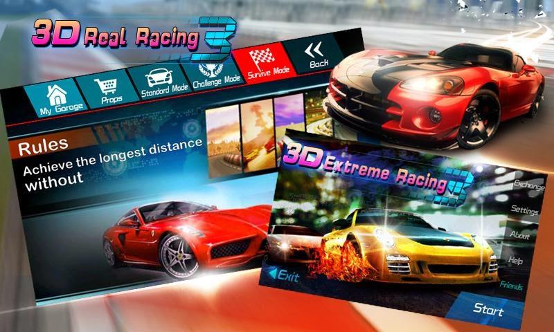 3D Real Racing, Game Android Balap Mobil Terbaik