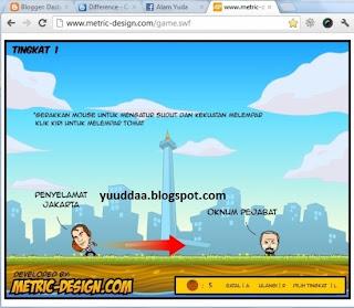 Mainkan Game Jokowi Selamatkan Jakarta Online