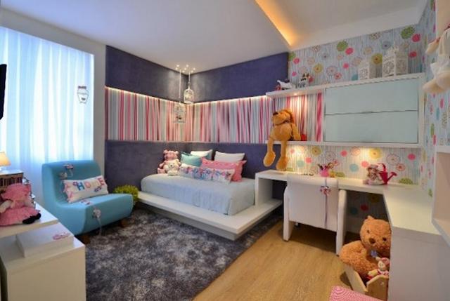 Habitación Moderna para una Niña - Quarto da Menina