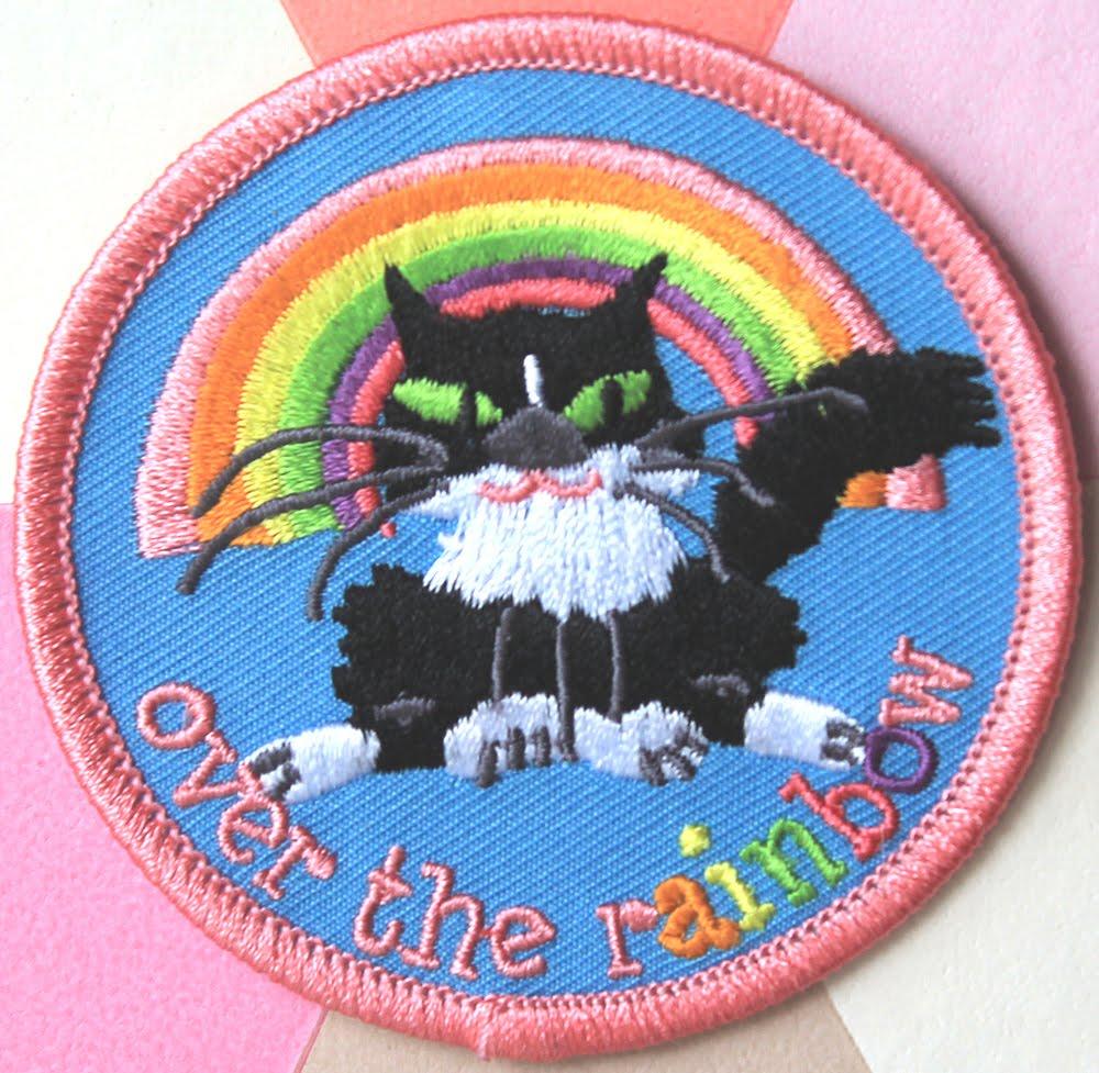 Rainbow cat patch here