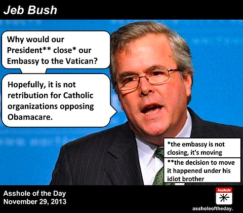 Jeb Bush Quotes New Cutting Through The Crap Jeb Bush Is An Idiot And Other Obvious