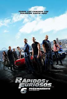 Poster de Rápidos y Furiosos 6