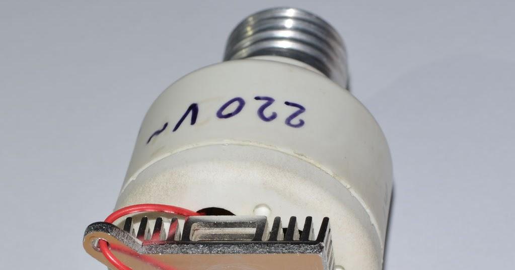 merubah adaptor usb menjadi lampu led zona cyber man
