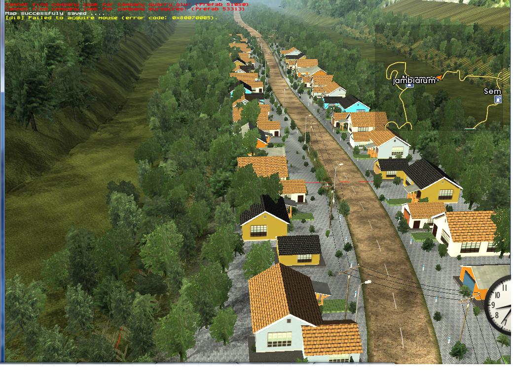 map uk truck simulator edisi kendal