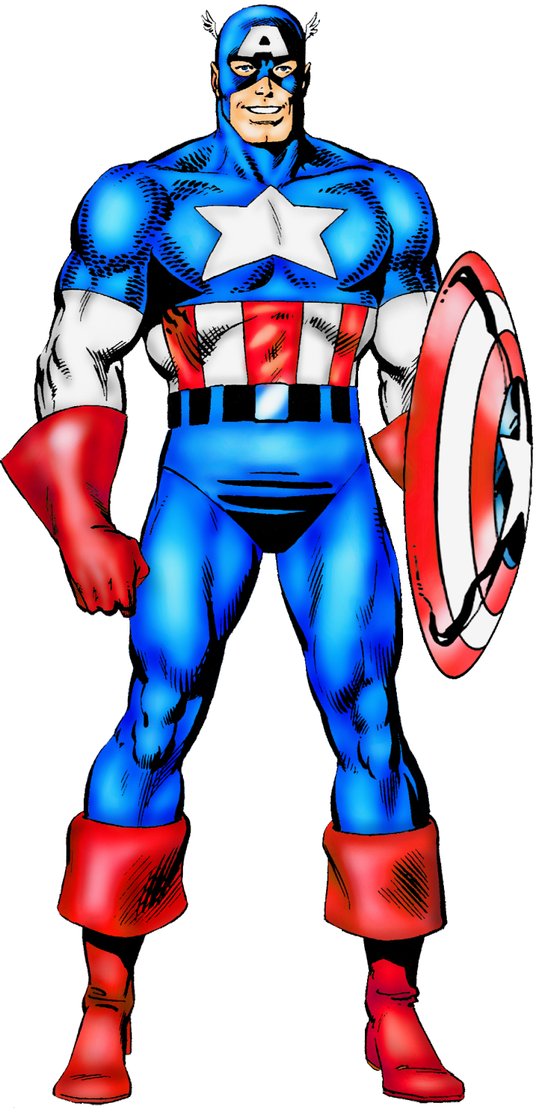 MARVEL PHOTOSHOP: CAPTAIN AMERICA del Official Handbook of the ...