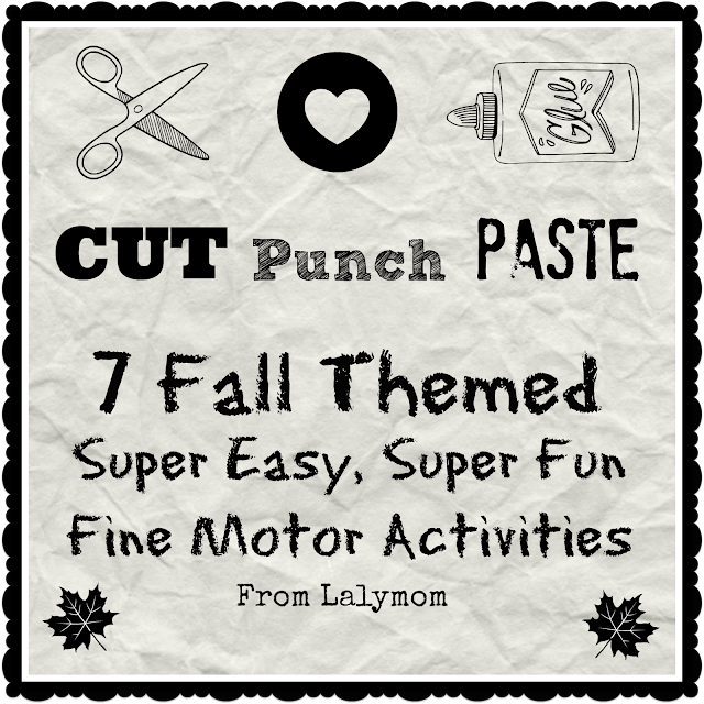 7 Fall Themed Easy Fine Motor Skills Activities for Preschoolers from Lalymom