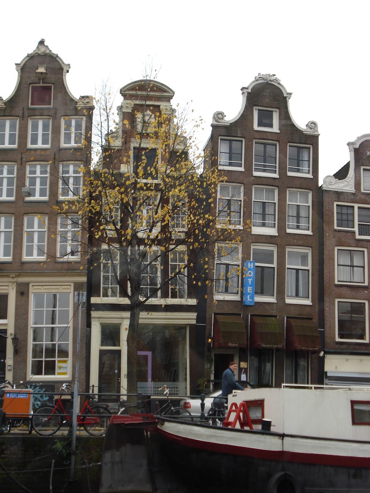 Gargoyles Graffiti Amsterdam Waterways Bicycles