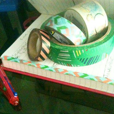 Washi Tape Bullet Journal