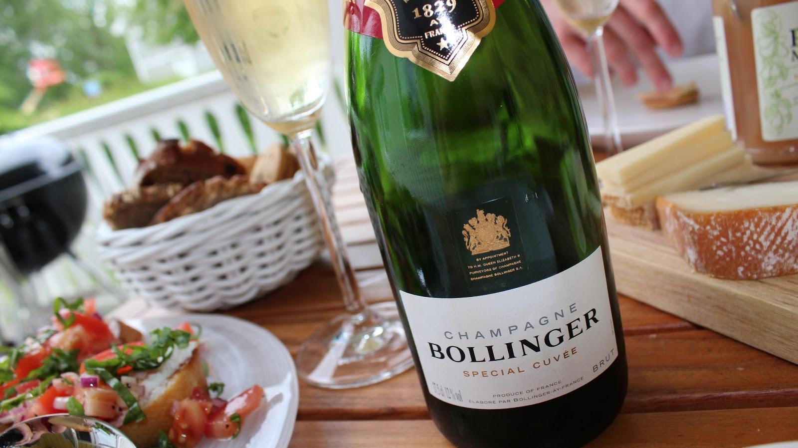 plockmat till champagne