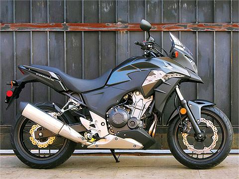 2013 Honda CB500X ABS Motorcycle Photos, 480x360 pixels