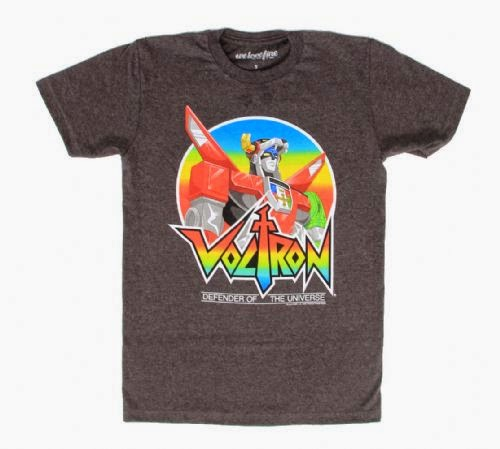 free Voltron tees 80s cartoons