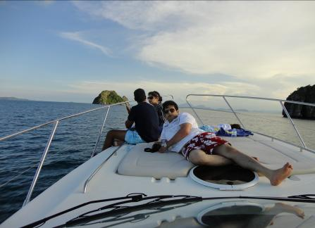 Yatch ride at Koh Samui