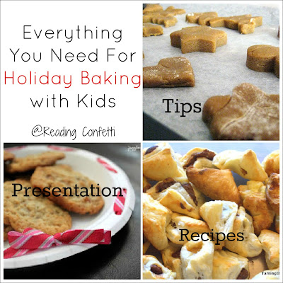 Everything you need for holiday baking with kids from Reading Confetti