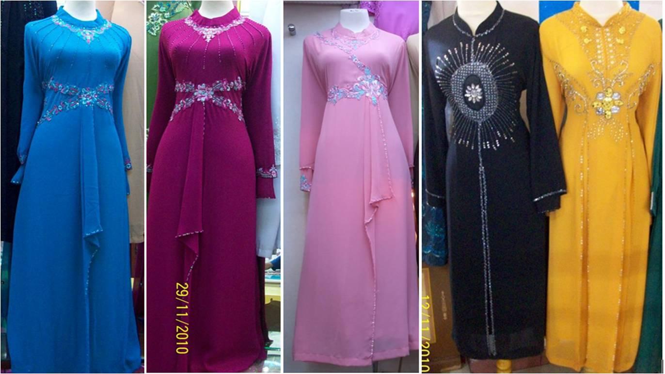 fesyen jubah modern nih nampak sweet n simple sgt tak minat fesyen