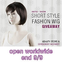 Short-Style Fashion Wig #Giveaway