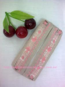 Funda de pañuelos con cerezas