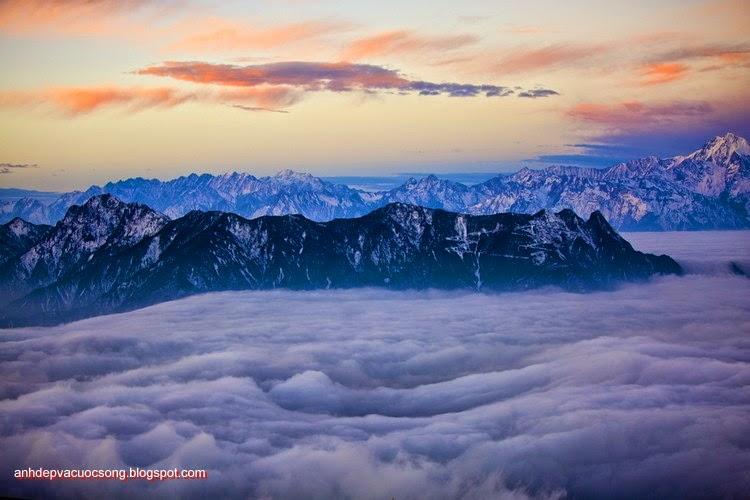 Mùa đông ở dãy núi Himalaya 14