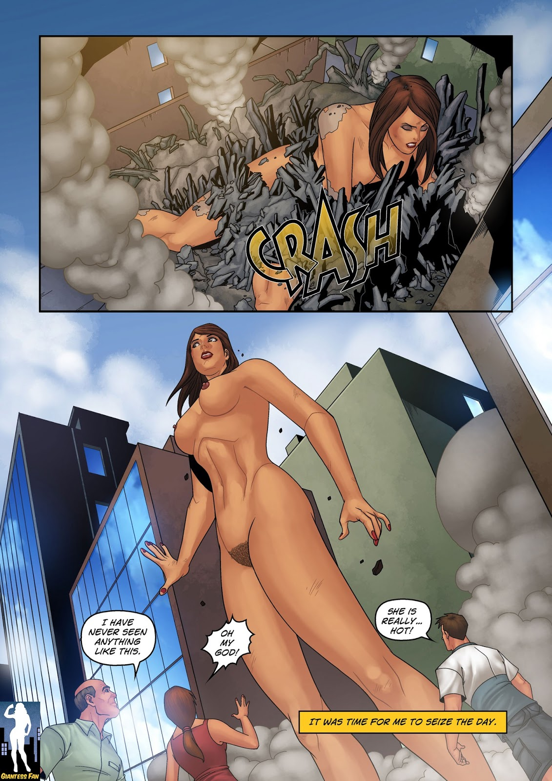 Giantess club porno sexy toons