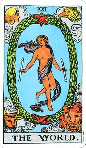 TAROT THE WORLD