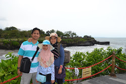 Me and my family @ Tanah Lot, Bali