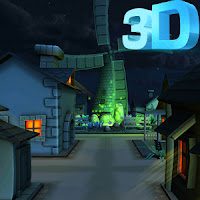 Download Cartoon Town 3D Live Wallpaper v1.0 Paid Apk For Android