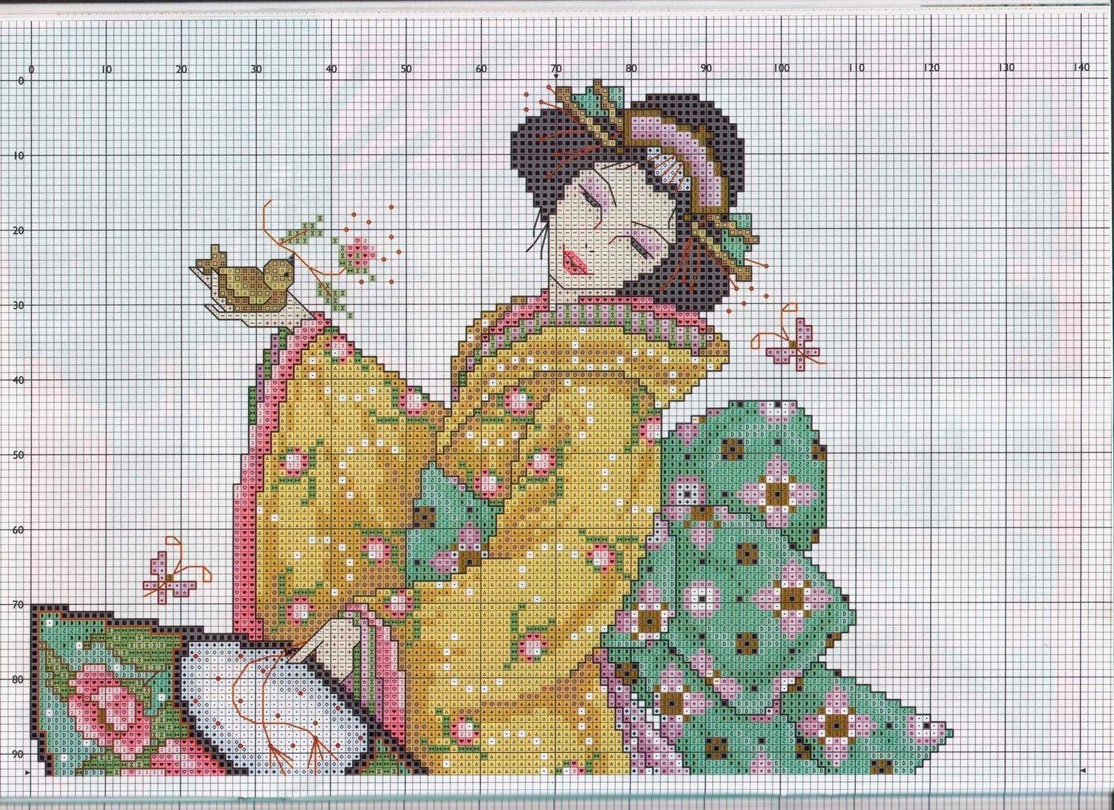 Вязание спицами для детей шапочки со схемами для девочек 37