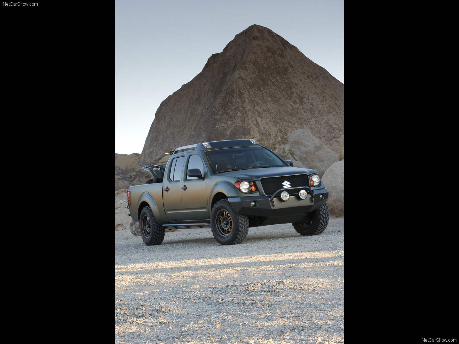 Hình ảnh xe ô tô Suzuki Equator Quad Concept 2008 & nội ngoại thất