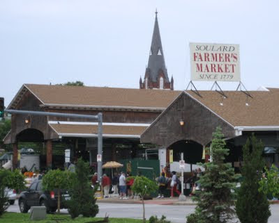 Soulard Market, the oldest farmers market west of the Mississippi