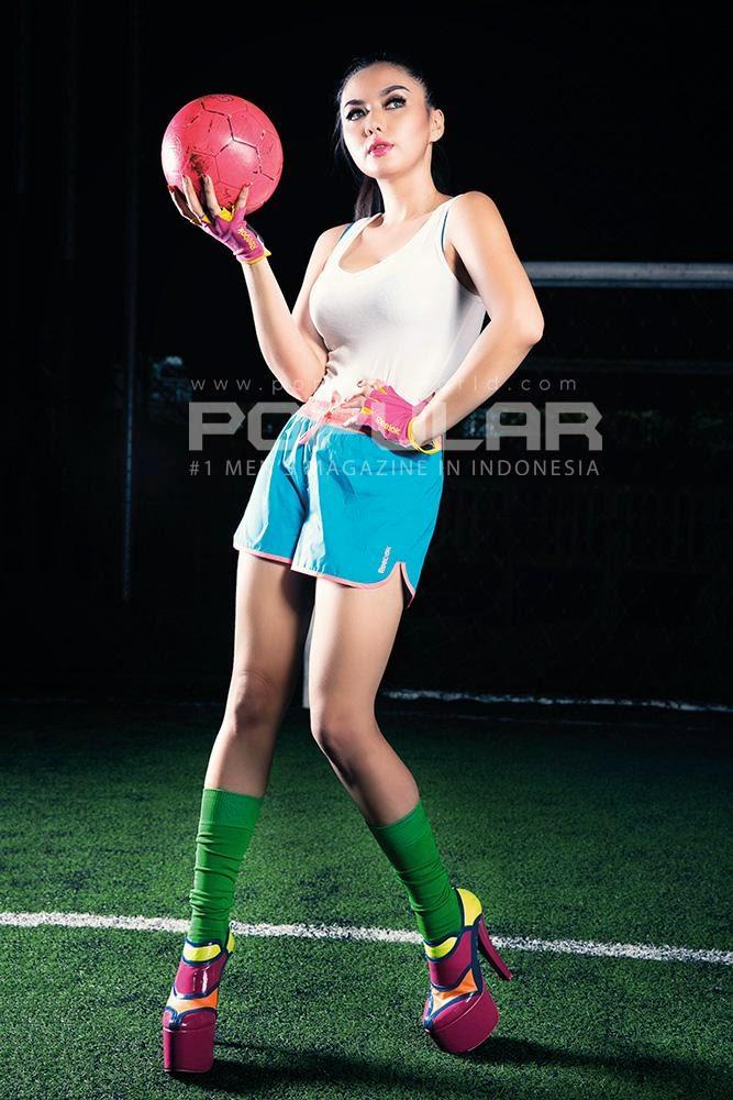 Vicky Shu Magzspider 08 Foto HOT Vicky Su di majalah dewasa Popular 2014