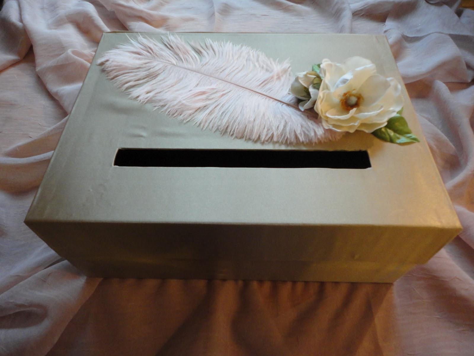 DSMeeBee: DIY Wedding Card Box
