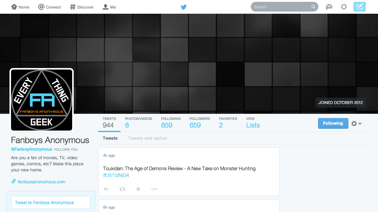 new Twitter design 2014 background template