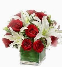 Buket bunga mawar ulang tahun