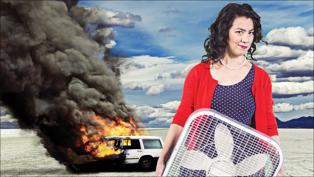 Sandra Tsing Loh is 'The Madwoman in the Volvo'