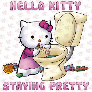 Hello Kitty pro ana anorexia bulimia