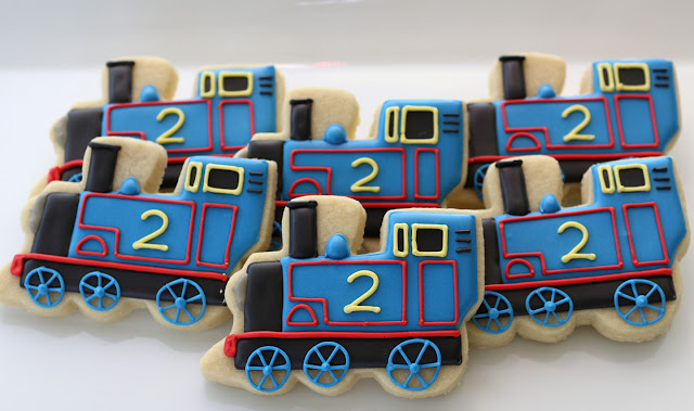 Thomas the Tank cookies