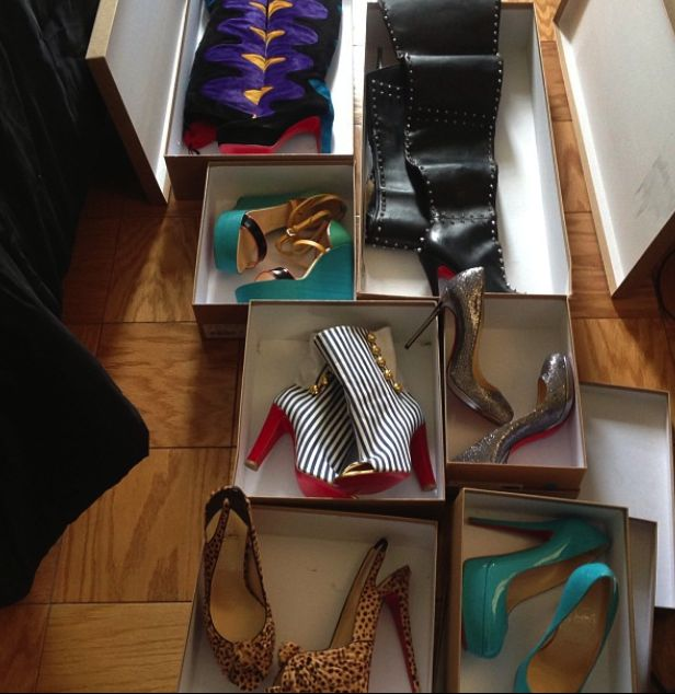 christian louboutin sample sale line