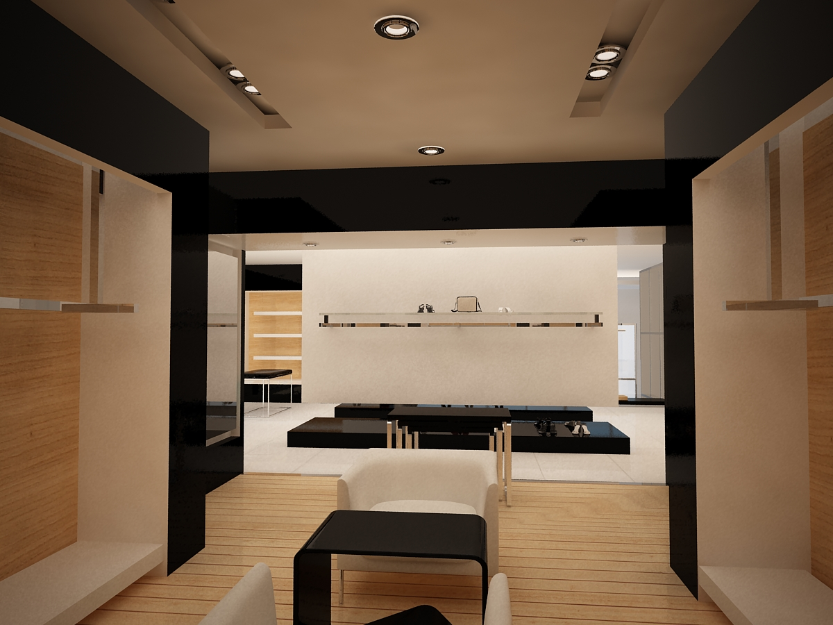 Dise o de espacios interiores proyecto azabache boutique for Diseno de interiores merida