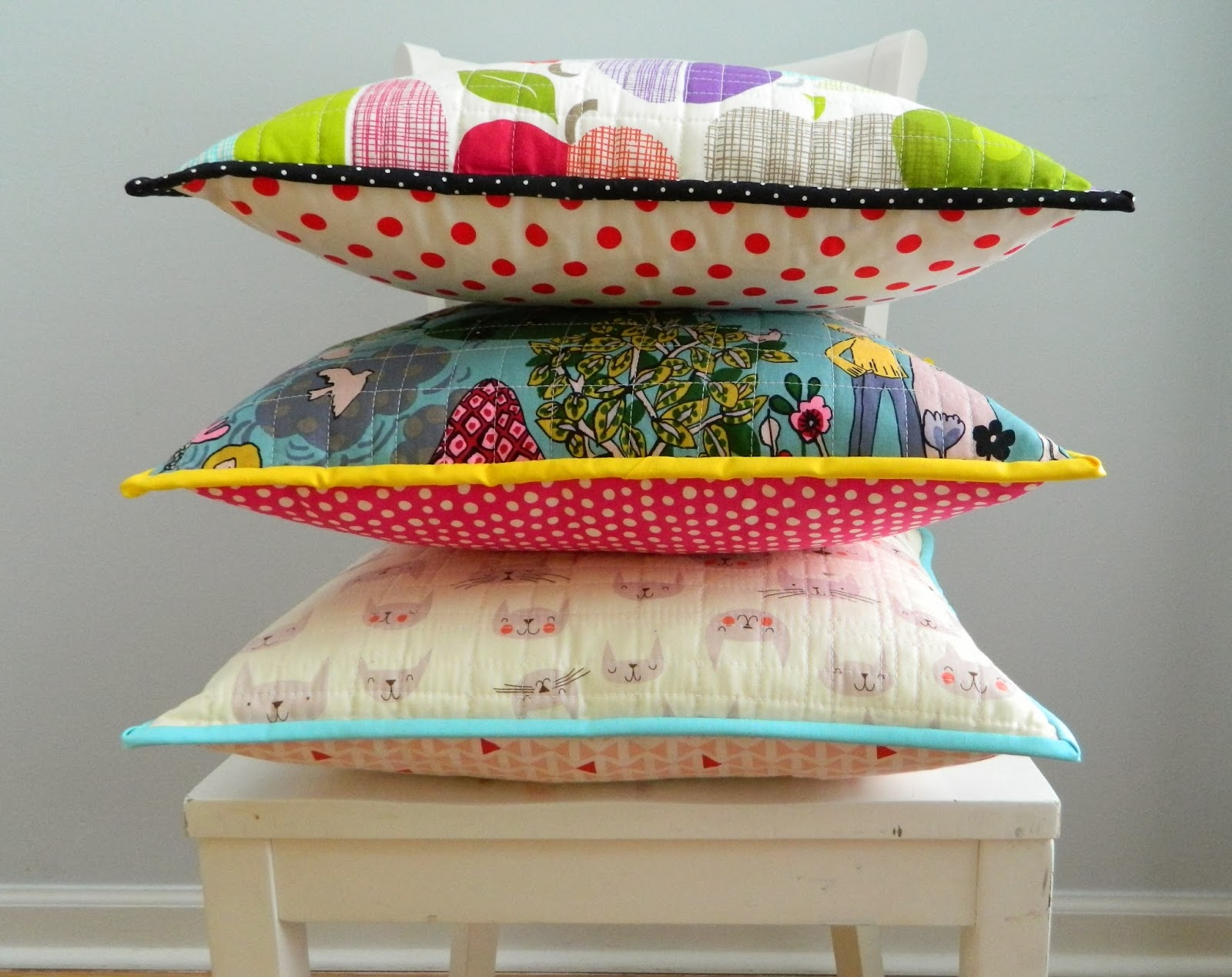 how to make a patchwork quilt pillow