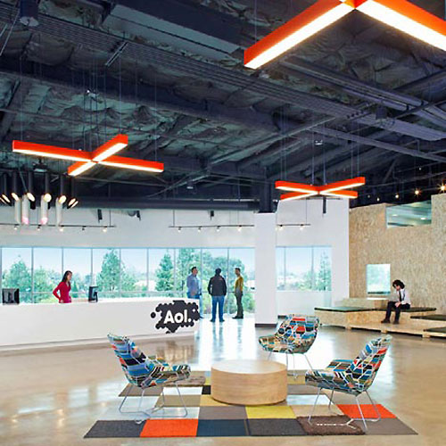 Mix and Match Lobby Office Design